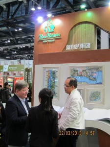 At Beijing New Nature Group booth