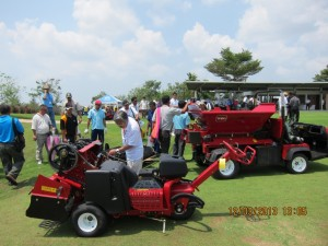 A larger turnout than last year is anticipated at the 2014 AGIF Turfgrass Management Exposition.