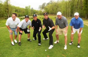 Gary Player (third left) will host the US leg of the Gary Player Invitational charity series in America next month.
