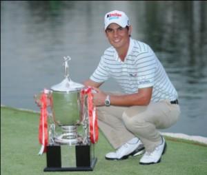 Matteo Manassero will participate at the HSBC Golf Business orum.