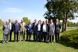 IGTM 2014 partners pose for a picture at the Golf Club Monticello.