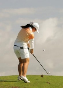 More females are keen to take up golf in the United Kingdom.