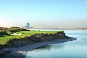 Yas Links is one of three outstanding courses in Abu Dhabi.