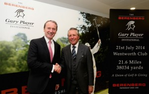 Dr Hans-Walter Peters, Managing Partner – Berenberg, with Gary Player.
