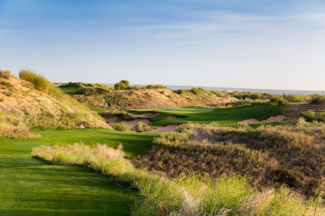 The view from the third tee at Dalu Dunes. Picture by Ryan Farrow.