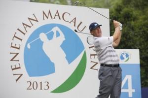Ernie Els in action during last year's Macau Open.
