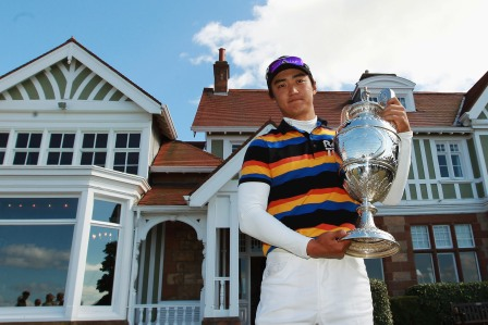 Korean Jin Jeong won The Amateur Championship in 2010. Picture by Getty Images.
