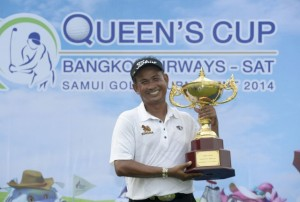 Thaworn Wiratchant claimed a dramatic late victory in Samui. Picture by Asian Tour.