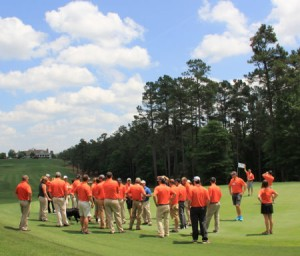 Sage Valley Golf Club was one of the stop-offs for attendees at the Future Turf Managers event.