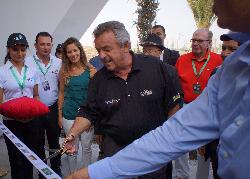Tony Jacklin opens the latest Troon golf club at Bouskoura Golf City.