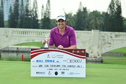 Niall Turner triumphed in Jakarta.