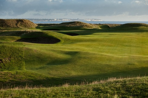 Royal St George's in Kent is one of England's Open Championship venues.