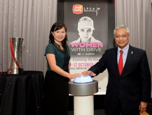 Women with Drive is the theme for this year's Sime Darby LPGA Malaysia.