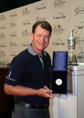 Tom Watson won The Open at Royal Birkdale in 1983 and at Carnoustie in 1975. Picture by Mike Wyatt/ Greenbrier Photography
