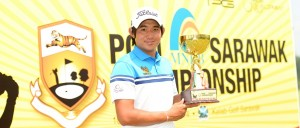Pavit Tangkamolprasert triumphed in Sarawak. Picture by Arep Kulal