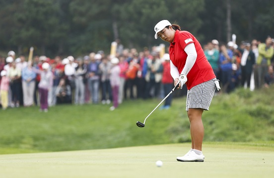 Feng Shanshan defends her title in Beijing this week. Piccture by Reignwood LPGA Classic.