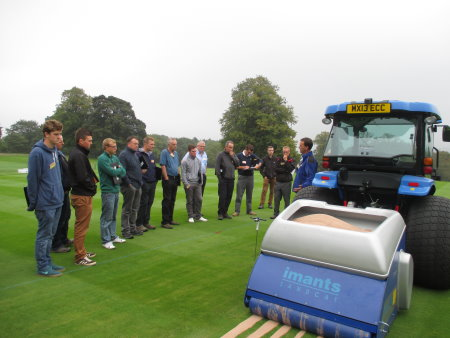 The Imants Sandcat at the STRI trials.