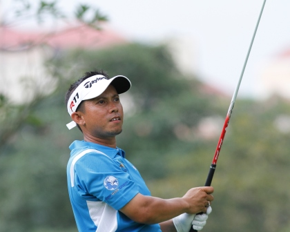 Sukree Othman was edged out in a sudden-death play-off.