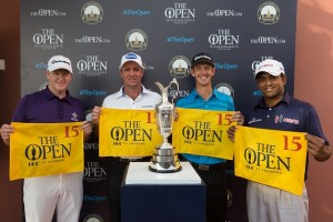 Marcus Fraser, Scott Hend, Jonathan Moore and Anirban Lahiri all secured spots in next year's Open Championship.