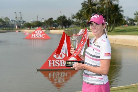 Paula Creamer will defend her HSBC Women's Champions title at Sentosa next week.