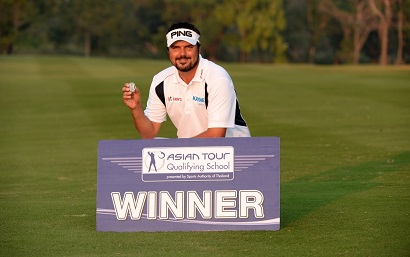 Daniel Chopra emerged triumphant at Tour School last year.