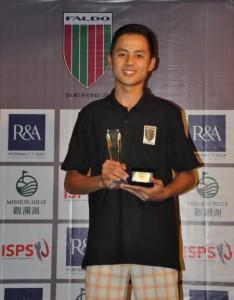 Tirto Tamardi is seeking a successful defence of the Faldo Series Indonesia Championship that he won last year.