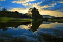 Kunming's Nick Faldo-designed Lakeview Golf Club boasts some spectacular holes.