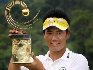 Hideki Matsuyama was a two-time winner of the Asia-Pacific Amateur Championship.