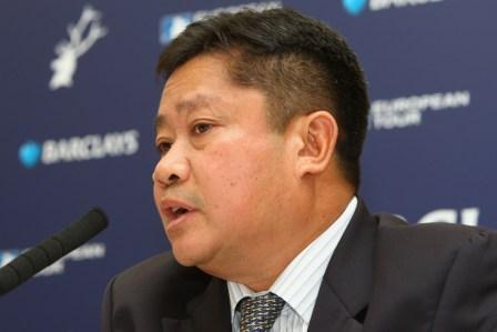 Asian Tour Chairman Kyi Hla Han