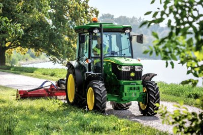 John Deere's  5085GF tractor.