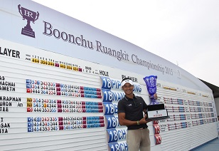 Phiphatphong Naewsuk claimed his maiden professional win.