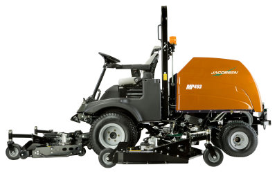 Jacobsen Showcases MP Series Batwing Rotary Mowers - Asian Golf