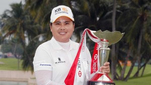 Park In-bee triumphed at Sentosa. Picture by Getty Images.