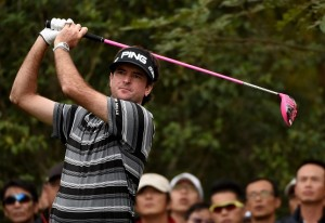 Bubba Watson will return to China next month. Picture by Ross Kinnaird/Getty Images