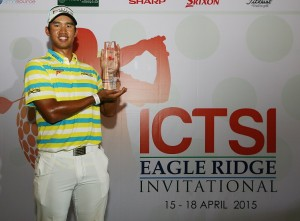 Arie Irawan posted his first overseas victory.