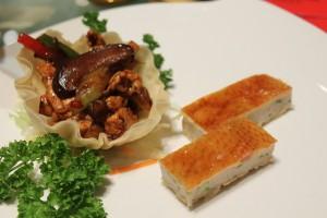 Crispy Roast Chicken prepared two ways.
