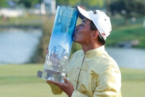 Wu Ashun emerged triumphant in Shanghai. Picture by Getty Images.