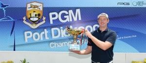 Sean Riordan triumphed at Port Dickson.
