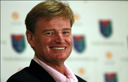 Ernie Els has become a Brand Ambassador with Pacific Links International.