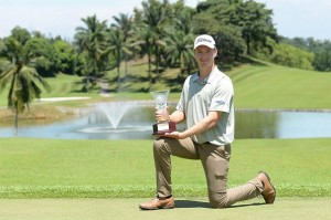 Jake Stirling captured his maiden professional title. Picture by Arep Kulal/PGM Tour