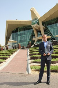 Paul Booth, Director of Club Operations at Abu Dhabi Golf Club.