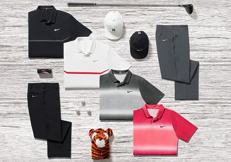 The apparel Tiger Woods will wear at Chambers Bay.