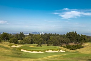The 11th hole at Los Angeles Country Club. Picture by USGA/John Mummert