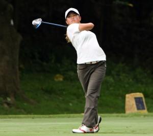 Isabella Leung is among the favourites at this week's Faldo Series Hong Kong Championship. Picture by Hong Kong Golf Association.