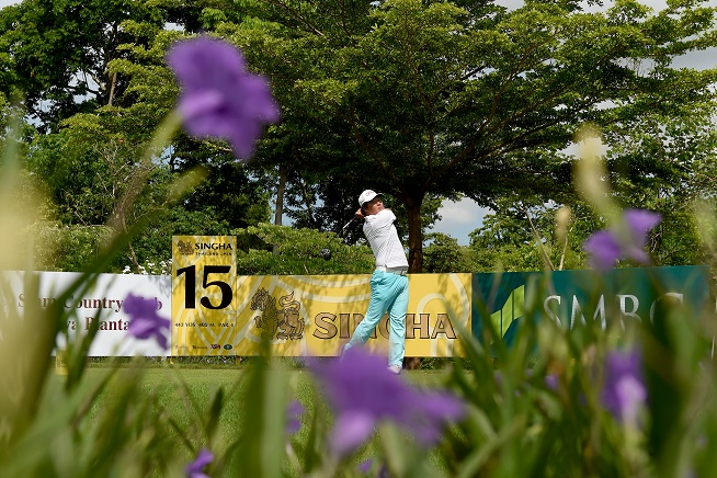 The Siam Country Club's Plantation Course hosted the 2015 Thailand Open. Picture by Paul Lakatos/OneAsia.