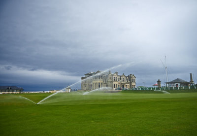 With the Toro irrigation system installed, The Old Course at St Andrews maximises the latest in water-saving irrigation technology.