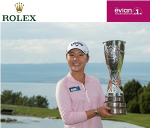Evian Championship winner Lydia Ko. Picture by Rolex/Chris Turvey