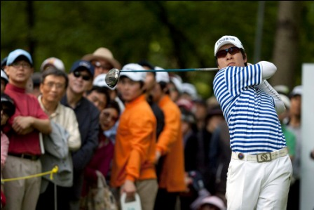 Kim Kyung-tae claimed his fourth win of the year.