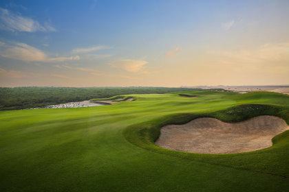 Al Zorah Golf Club.