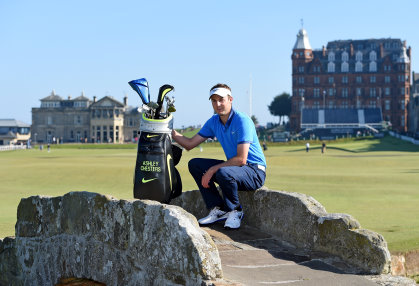 Ashley Chesters at St Andrews. Picture by Ross Kinnaird/Getty Images
